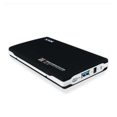 SSK 飚王 SHE072 黑鹰 2.5英寸 USB3.0移动硬盘盒 sata接口 支持2.5英寸固态硬盘和机械磁盘