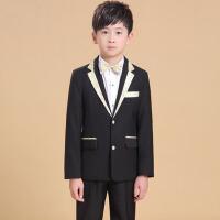 韩版春秋小孩西装 儿童休闲西装礼服男童时尚套装三件套中大童套装