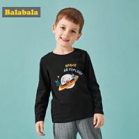 【3折价:29.7】巴拉巴拉宝宝长袖T恤男童秋装新款儿童童装韩版卡通纯棉上衣