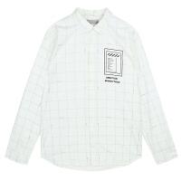 【2件5折64元】唐狮款衬衫 男长袖衬衫