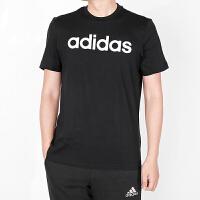 Adidas阿迪达斯 男子 运动休闲短袖 跑步圆领T恤 BR4066