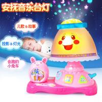 新款正品 安抚音乐台灯梦幻星空投影故事机儿童早教益智玩具