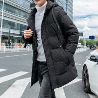 男棉衣冬季2018新款韩版潮流中长款棉袄休闲冬装衣服男装羽绒