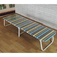 钢丝折叠床 单人床双人加固型陪护床钢丝床办公室午休床简易木板床