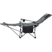 户外沙滩椅 便携折叠靠背椅 两用网纱午休椅 折叠躺椅 休闲钓鱼椅