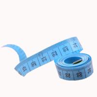 糖果色迷你卷尺 量腰围胸围臀围的尺子 多功能软尺裁缝量衣尺 一个颜色随机 150cm