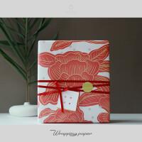 中国风礼物包装纸礼品生日礼盒新年大号结婚婚庆包装盒1米^68cm空盒子 包装纸 3张