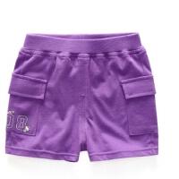 儿童裤子纯棉夏季婴儿男女童短裤