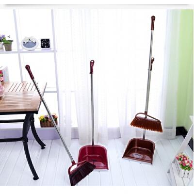 扫把套装扫帚垃圾斗组合塑料家居清洁用品 发货周期:一般在付款后2-90天左右发货,具体发货时间请以与客服协商的时间为准