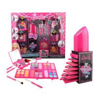 公主娃娃化妆盒女童玩具礼物彩妆盒儿童化妆品公主彩妆盒 口红造型化妆盒