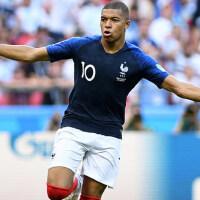 欧洲杯法国队球衣主客场短袖 法国队兰色10号本泽马7号里贝男女足球服
