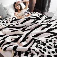 加厚珊瑚绒毯子冬季用保暖法兰绒毛毯午睡小被子床单保暖单人学生