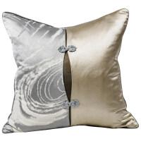 ????礼缘 满缘中国风吊坠拼接现代新中式客厅沙发抱枕靠垫靠背提花含芯腰枕