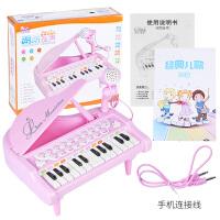 儿童电子琴带麦克风宝宝电子琴玩具孩子钢琴女孩益智早教礼物