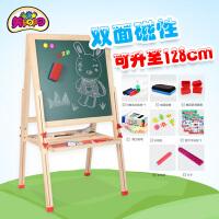 儿童画板磁性小黑板支架式写字板画画家用涂鸦板可升降
