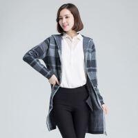 秋冬韩版女毛衣中长款针织羊毛衫开衫宽松显瘦修身外套针织衫