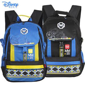 迪士尼米奇休闲书包初中生高中生男生儿童双肩休闲书包