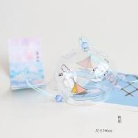 玻璃樱花风铃日式江户小清新家居创意和风挂饰女生毕业小礼物