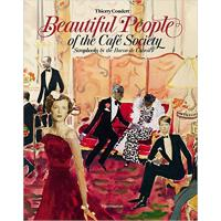 现货 Beautiful People of the Café Society: Scrapbooks by the