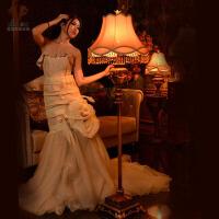 欧式落地灯复古创意灯饰客厅装饰卧室落地灯具