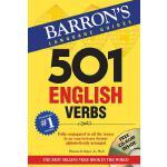 【预订】501 English Verbs [With CDROM]