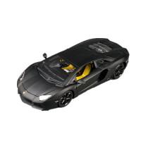 兰博基尼LP700-4车模1:18仿真合金汽车模型摆件文塔多跑车 哑光黑 LP700-4