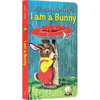 I am a Bunny 我是一只小兔子 Richard Scarry 经典绘本 幼儿英语 廖彩杏推荐 早教纸板书 0-