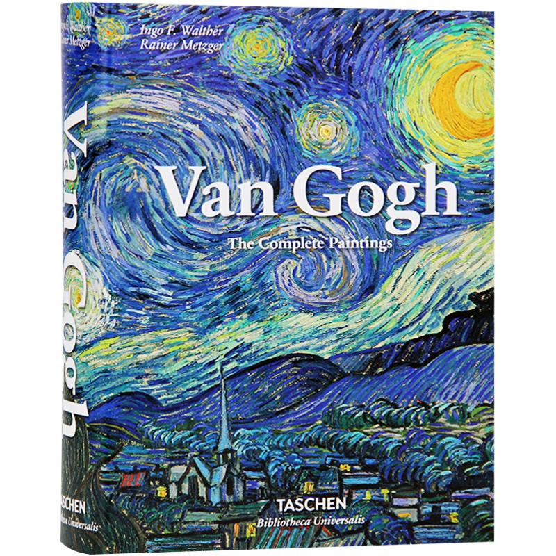 Van Gogh 梵高画册 临摹作品集星空油画向日葵作品印象派至爱梵高传 TASCHEN画册 艺术画册 梵高画册