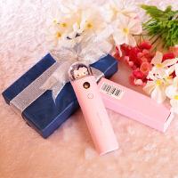 情人节礼物送女友创意浪漫朋友老婆爱人爱情特别实用表白生日礼品 纳米补水+充电宝+丝带礼盒包装