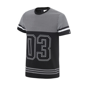 adidas阿迪达斯男装短袖T恤2018运动服CD1073