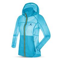 KELME卡尔美 K16C309 女式轻薄透气皮肤风衣 户外防晒速干连帽外套 休闲运动外套