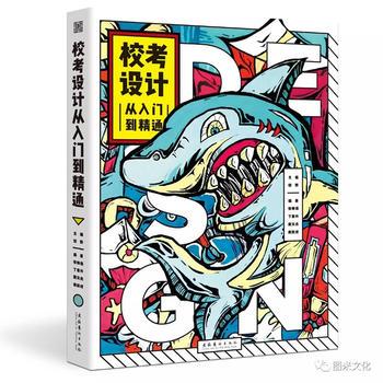 2019图米文化校考设计从入门到精通田野高考美术绘画基础综合书
