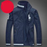 高尔夫男士秋冬外套夹克衫长袖POLO休闲男立领上衣运动球衣