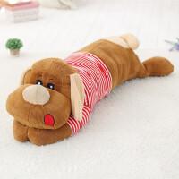 狗狗睡觉抱枕布娃娃生日礼物女生大号趴趴狗公仔毛绒玩具狗玩偶