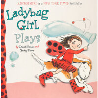 Ladybug Girl Plays [Board Book]瓢虫女孩爱玩耍[卡板书]ISBN978080373892