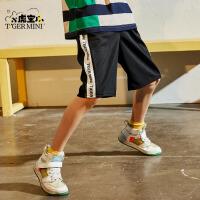 【2件3折:38.4元】男童短裤夏季薄款2021儿童五分裤外穿中大童帅气