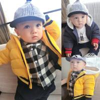 20180506181138855女婴儿棉衣服男宝宝0新生儿3个月1秋冬季冬装6秋装加绒加厚外套装