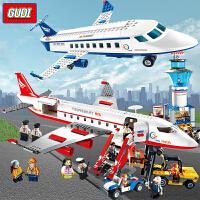 兼容乐高古迪积木儿童拼装飞机系列模型大型客机男孩子玩具10岁12