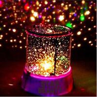 LED普通版星空投影灯(不带USB线) 投影灯七彩小夜灯 款式随机