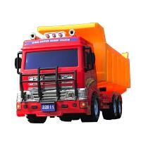 大号工程车翻斗车大卡车大货车挖掘机男孩小汽车儿童玩具车