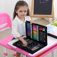 儿童画笔套装幼儿园水彩笔绘画用品美术画画工具小学生女生日礼物礼品文具 黑色(预计6月10号发货 慎拍)