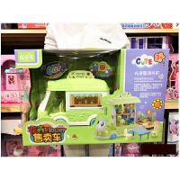 儿童玩具 花卉售卖车过家家玩具汽车女孩宝宝儿童早教益智礼盒装生日礼物 花卉售卖车