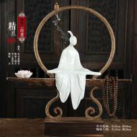 中式禅意客厅摆件家居饰品电视柜酒柜软装工艺品玄关陶瓷佛像摆设