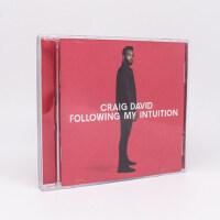 正版 克雷格・大卫:直觉反映(豪华版)专辑CD+歌词本