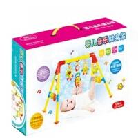 婴儿健身架3月以上玩具带音乐多功能带牙胶摇铃礼物儿童早教健身器玩具