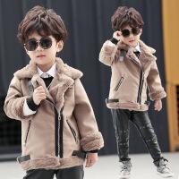 童装男童大衣幼儿新款儿童毛呢外套韩版加厚宝宝冬装上衣夹克