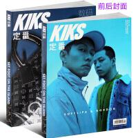 定番数码设计KIKS2018年2月正反封面时尚艺术设计运动潮鞋服饰期刊