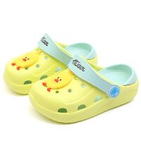 儿童宝宝拖鞋夏季男女童凉拖鞋室内防滑软底小孩沙滩鞋