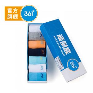 361° 361度童装男童袜女童袜儿童双装中袜童袜礼盒N