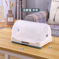 碗筷收纳盒带盖带沥水抽屉式杯子茶具餐具收纳箱防虫防尘厨房用品